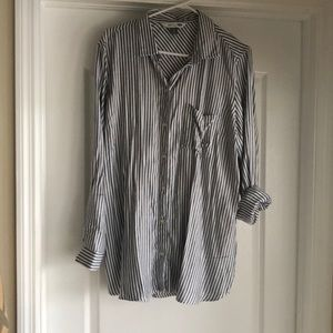 NWOT Old Navy Striped Classic Shirt Xl